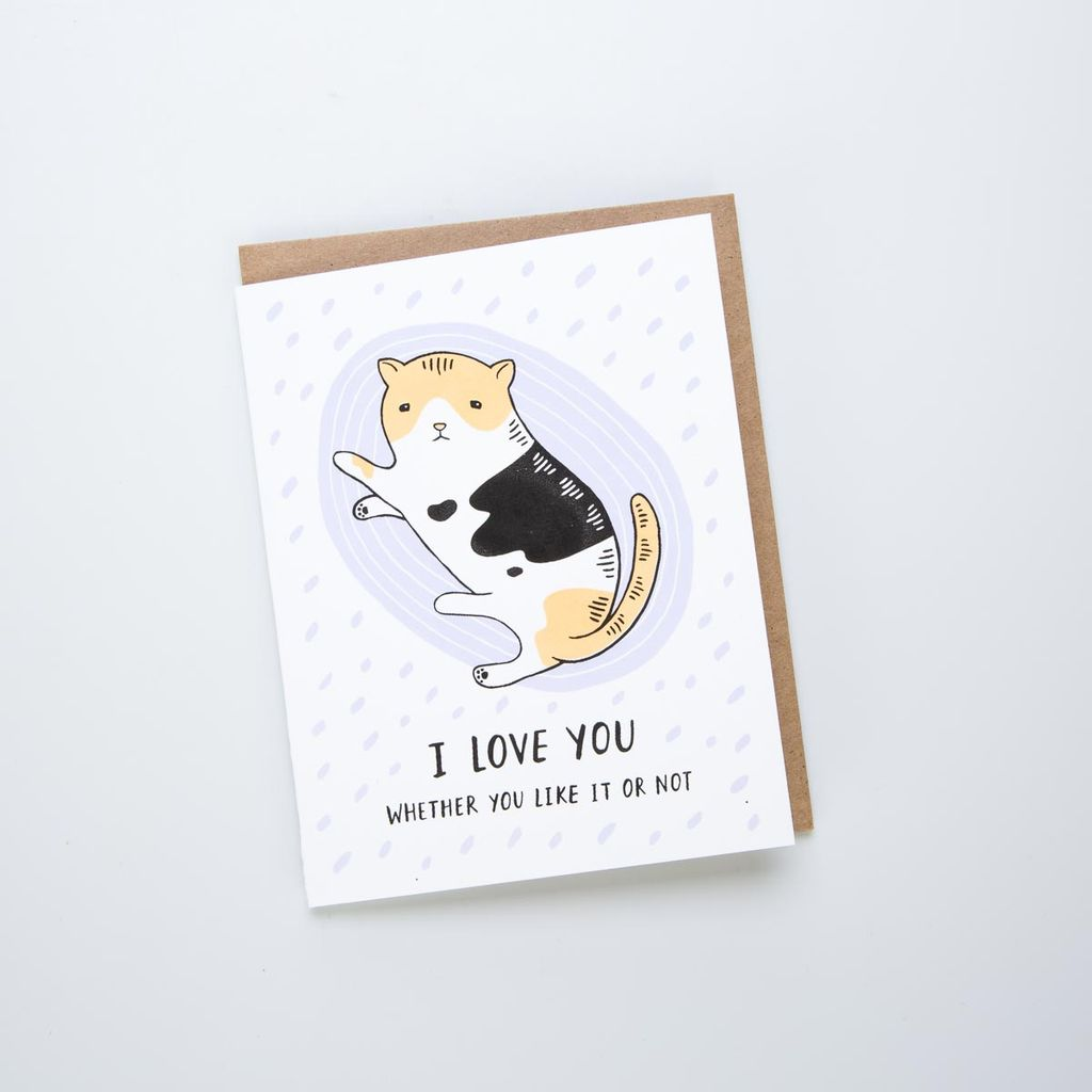 Lucky Horse Press LHPGCLO0007 - I Love You Cat