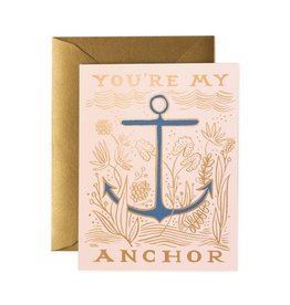 Rifle Paper Co. You're My Anchor Card