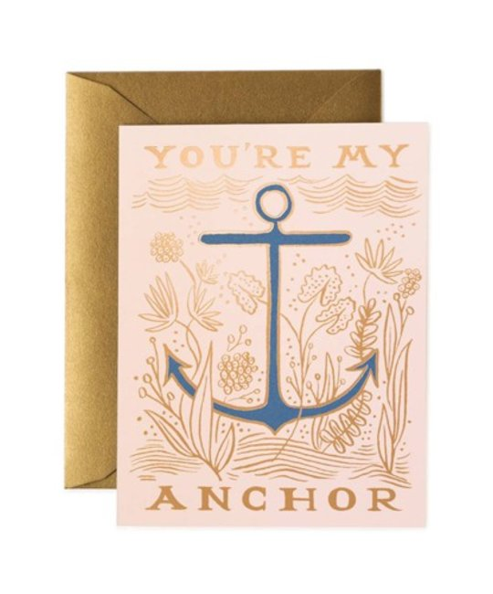 Rifle Paper Co - RP You're My Anchor Card