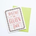 Smudge Ink SIGCBI0021 - Gluten Free Card