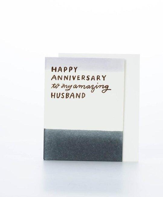Moglea - MOG Amazing Husband Anniversary Card