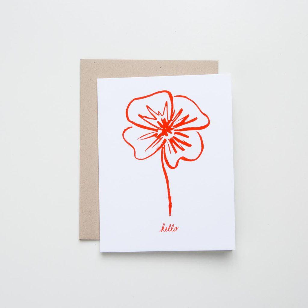 Meeschmosh Petunia Card