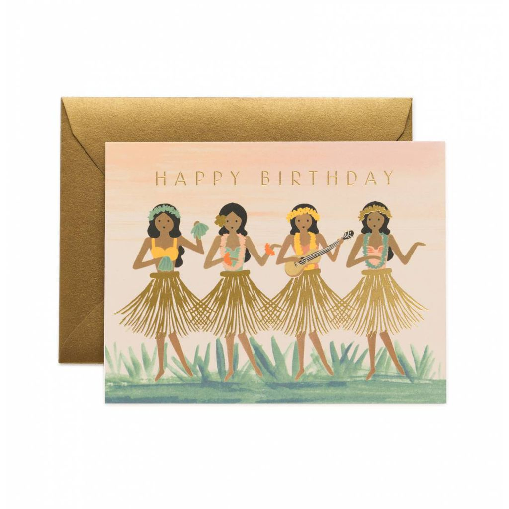Rifle Paper Co. RPGCBI0034 - Hula Birthday