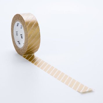 Sweet Bella LLC Gold Stripe Washi Tape