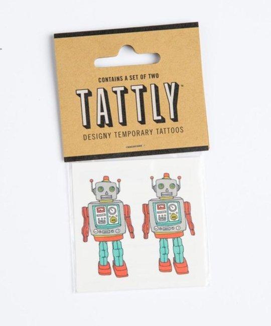 tattly TA LG - robot Tattoo