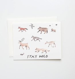 Red Cap Cards RCCGCMI0002 - Stay Wild