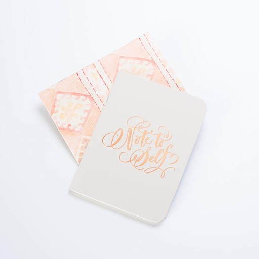 Antiquaria Note to Self Fog Notebook Set