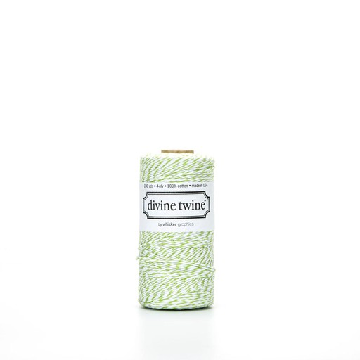 whisker graphics DT RI - green apple divine twine