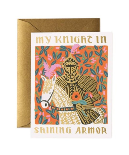 Rifle Paper Co. RPGCLO0013 - Knight in Shining Armor