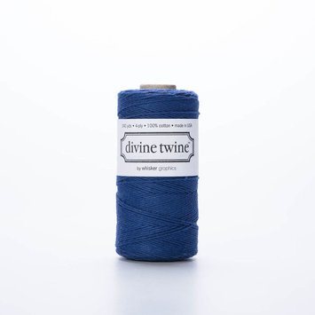 whisker graphics Solid Navy Bakers Twine Spool