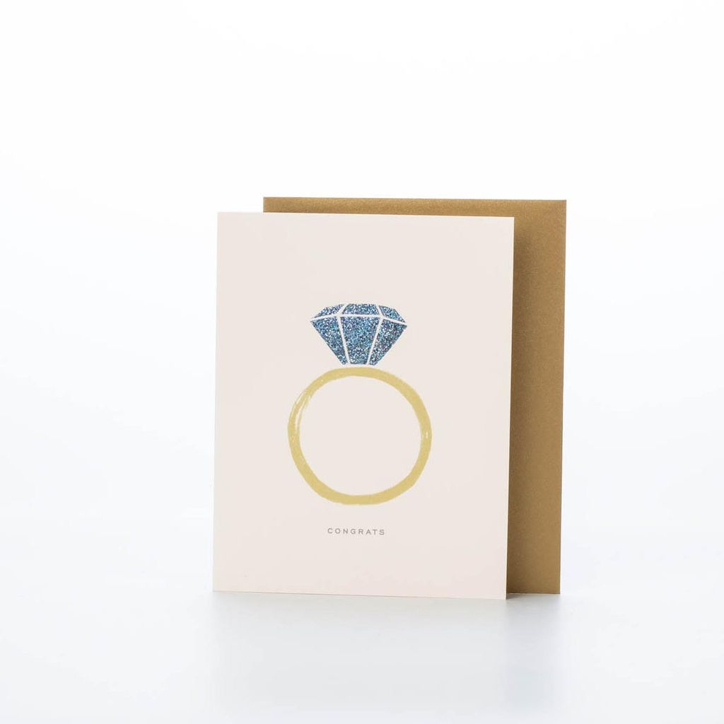 Rifle Paper Co. Congrats Engagement Card