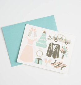 Rifle Paper Co. Just married card