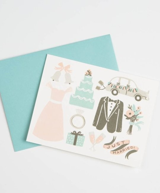 Rifle Paper Co - RP Just married card