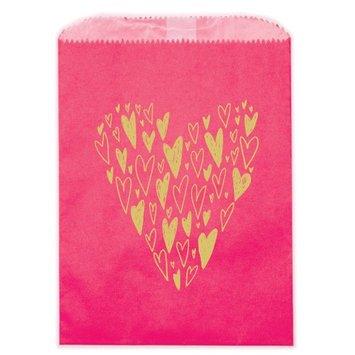 Ladyfingers Letterpress - LF Hearts Treat Bags