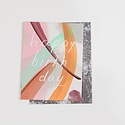 moglea MOGGCBI0015 - Bromily Birthday  -  Flat Card with Patterned Envelope