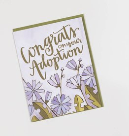 one canoe two letterpress OC GC - Adoption Congrats