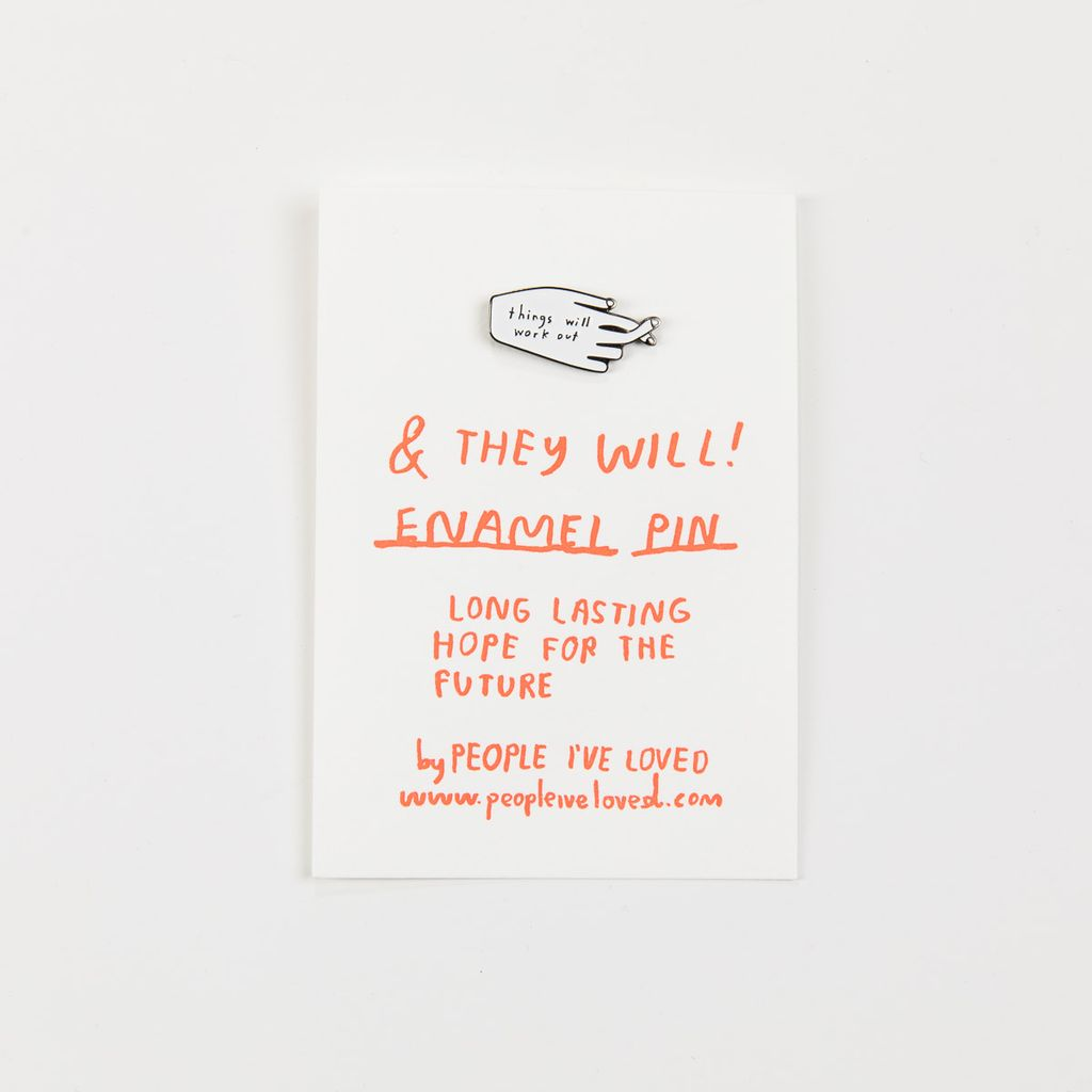 People I've Loved PIL AC - Things Enamel Pin