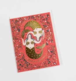 Red Cap Cards RCCGCMI0004 - Bestie Mermaid
