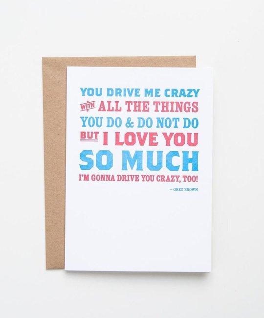 Waterknot WA GC - Drive you Crazy
