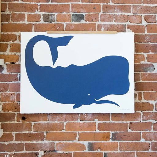 Banquet Atelier and Workshop - BAW Whale Screen Print