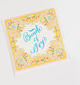 Antiquaria Bundle of Joy Handkerchief Card