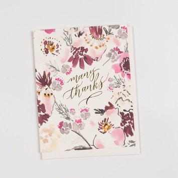 Antiquaria ANGCTY0005 - Floral Thank You