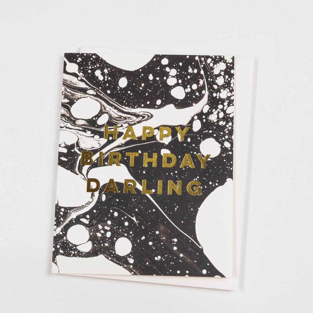 Antiquaria ANGCBI0011 - Marble Birthday Darling
