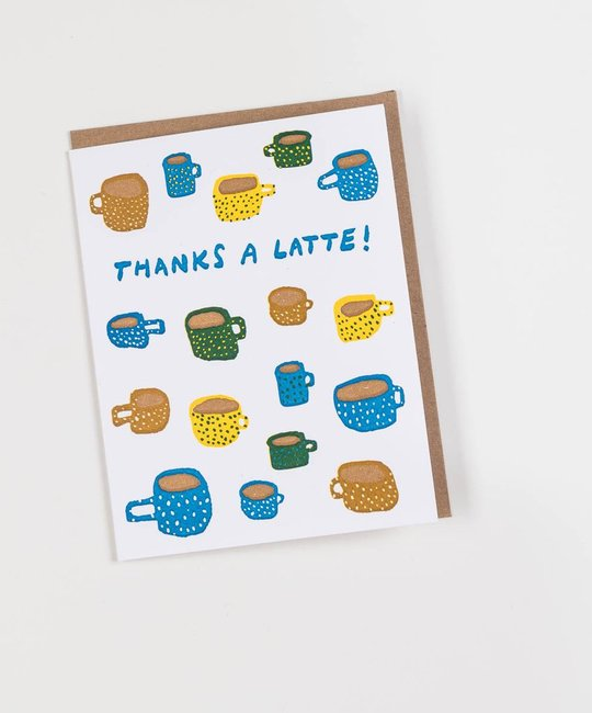 Hammerpress HAGCTY0012 - Thanks-a-Latte