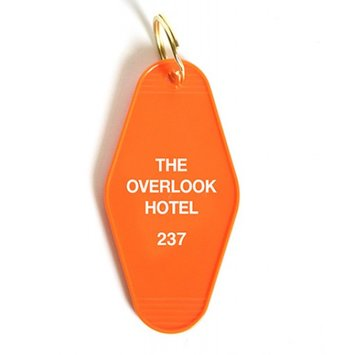 Greenwich Letterpress Overlook Hotel Keychain
