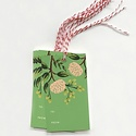 Rifle Paper Co - RP RP GT - Emerald Peonies Gift Tag, Set of 10
