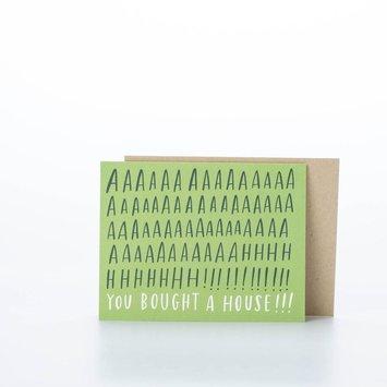 Emily McDowell Aah! House Card