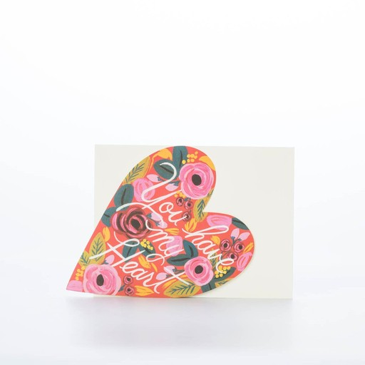 Rifle Paper Co. You Have My Heart Card