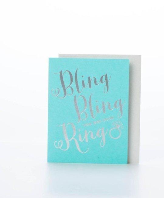 The Social Type Bling Bling Card