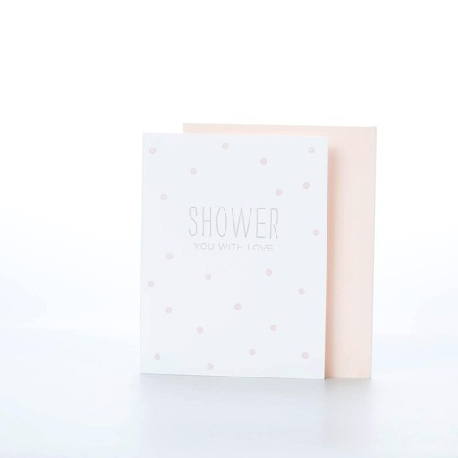 Sugar Paper SUGGCBS0001 - shower, pale pink
