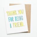 Near Modern Disaster - NMD Thank You Friend Card