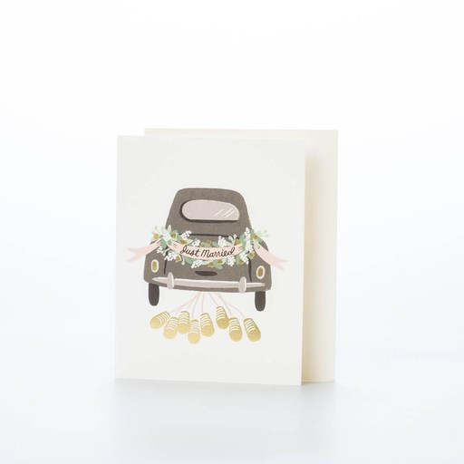 Rifle Paper Co - RP Just married getaway Card