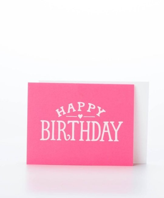 Sugar Paper Bright Birthday Card