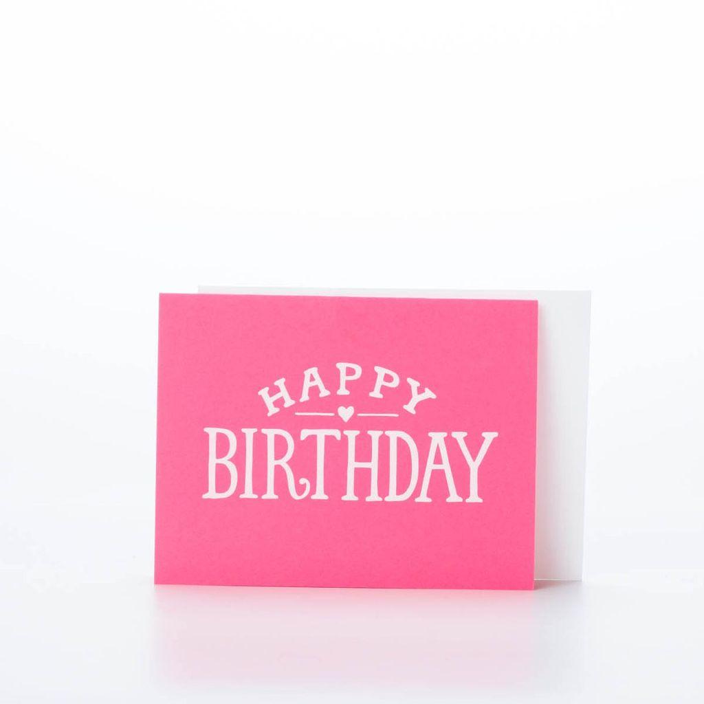 Sugar Paper Bright Birthday Card