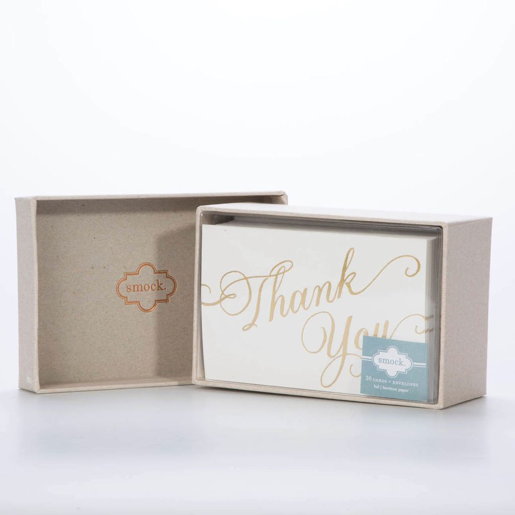 Smock Script Thank You Notes 30 pack