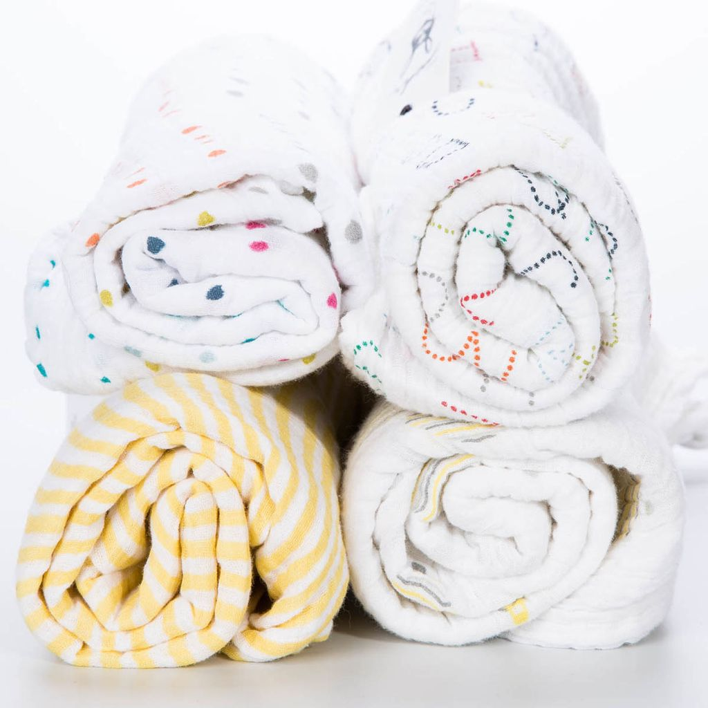 Pehr Alphabet Swaddle Blanket