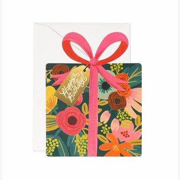 Rifle Paper Co - RP RPGCBI0026 - Floral Gift Box Die Cut Card