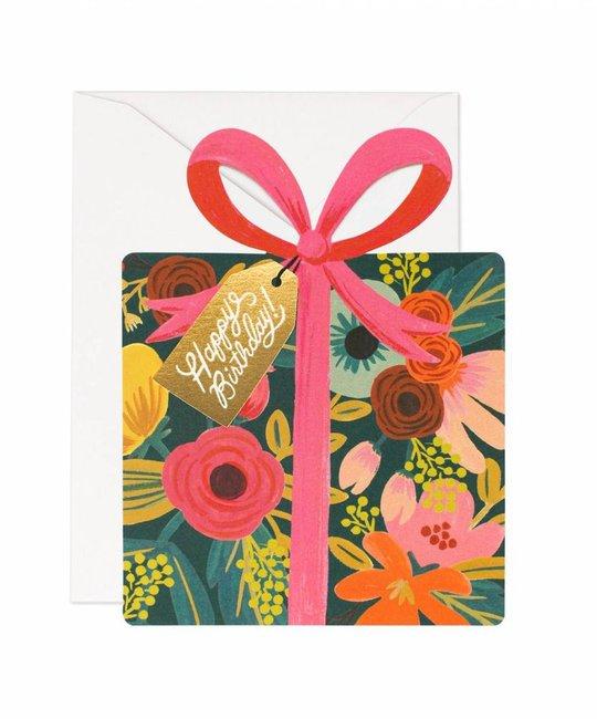 Rifle Paper Co - RP Birthday Present Die Cut Card