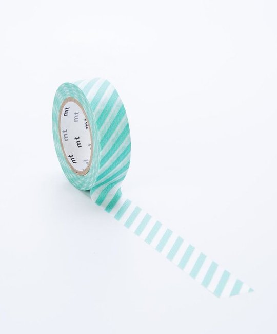 Sweet Bella LLC Stripe Mint Washi Tape
