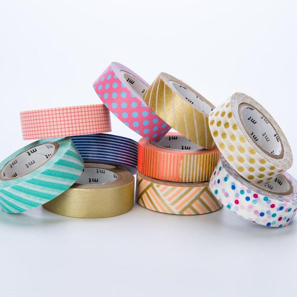 Sweet Bella LLC Pastel Thin Washi Tape Set