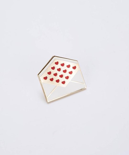 City Of Industry Love Letter Enamel Pin