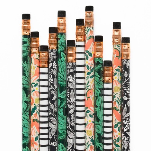 Rifle Paper Co. Folk Pencil Set