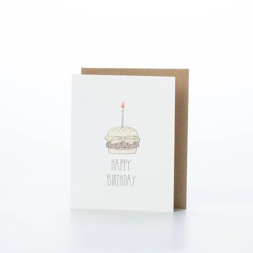 Hartland Brooklyn Birthday Burger Card