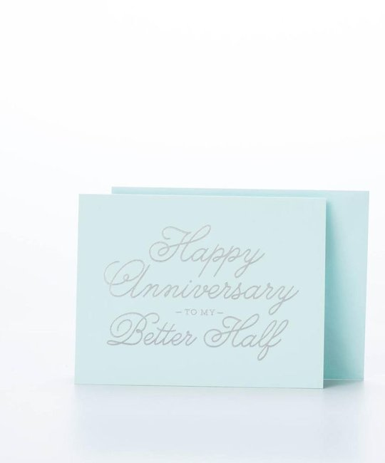 The Social Type Better Half Anniversary Card