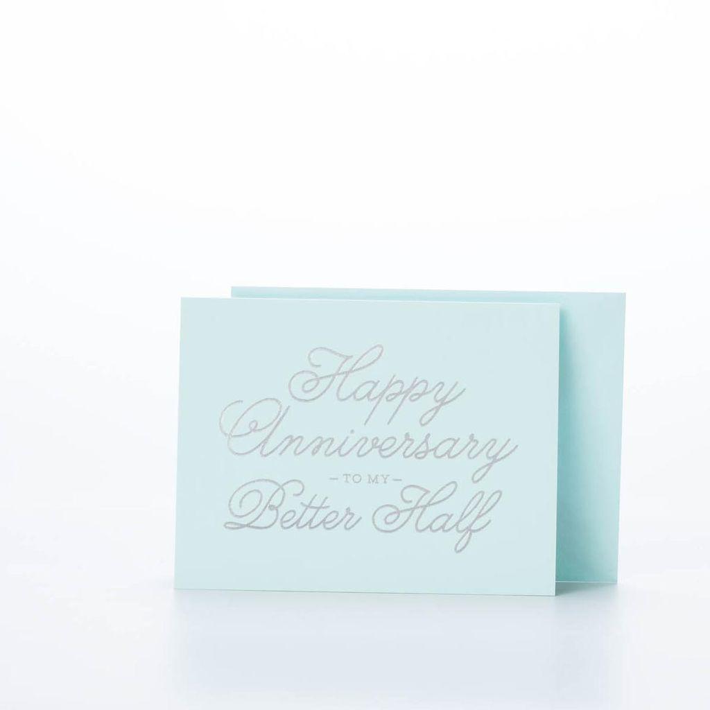 The Social Type - TST Better Half Anniversary Card