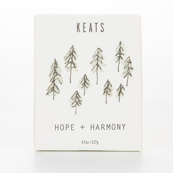 Keats Hope + Harmony  -  Cedarwood + Lime Soap